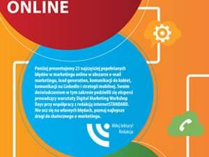 Najczęstsze błędy w marketingu online
