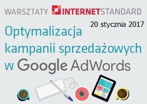 Warsztaty: Optymalizacja kampanii sprzedażowych w Google Adwords
