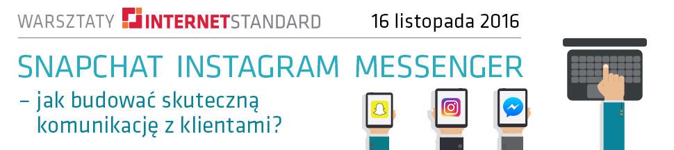 Snapchat Instagram Messenger – jak budować skuteczną komunikację z klientami?