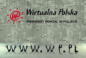 Kadr z reklamy WP 'Pierwszy portal w Polsce'