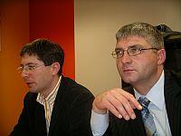 Bartłomiej Zarębski i Jacek Makowski prezentują OnetBanery