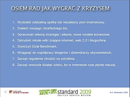 'Drugie życie mediów tradycyjnych' <br> Krzysztof Urbanowicz, Mediapolis