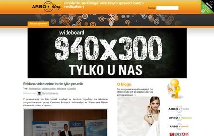 Wideboard na ARBOblog.pl