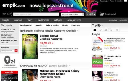 empik.com w nowej odsłonie