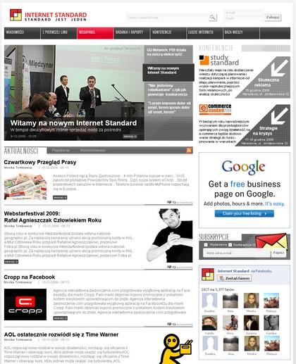 Już wkrótce InternetStandard.pl w całkiem nowej szacie