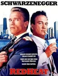 Jako aktor, Schwarzenegger, grał m.in. rosyjskiego policjanta Ivana Danko wysłanego ze specjalną misją do USA w thrillerze 'Red Heat' z 1988 r.