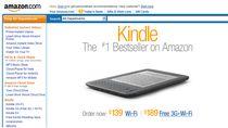 Czytnik e-booków Kindle to bestseller sklepu Amazone