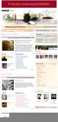 Na Onet.pl jest ponad 1,5 mln blogów