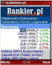 M.Bankier.pl w przeglądarce dla komórek Opera Mini