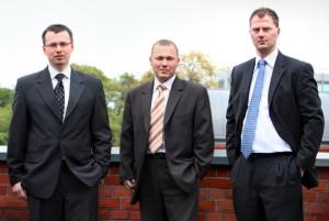 Zarząd GoldenSubmarine, od lewej: Grzegorz Krzemień, Marcin Gruca, Michał Grzybkowski