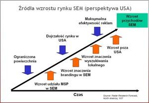 Źródła wzrostu rynku SEM (perspektywa USA) - prezentacja Artura Banacha z NetSprint.pl