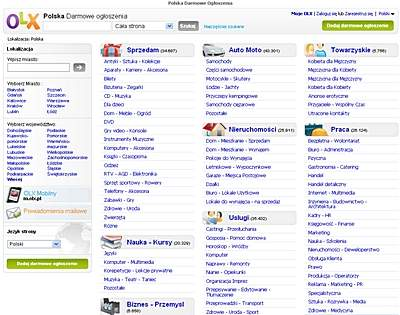 OLX.pl. Barwniejsza wersja Craigslist.pl
