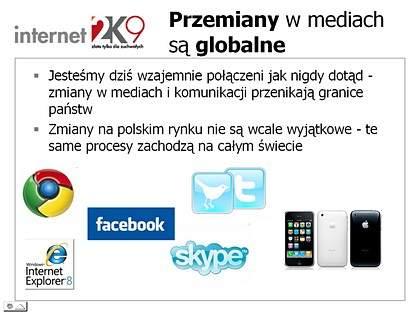 Globalne trendy w polskich mediach interaktywnych <br> Tomasz Józefacki, Agora S.A.