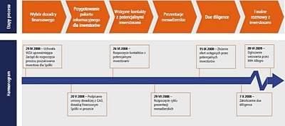 Proces poszukiwania inwestora strategicznego dla Bankiera, Źródło: Bankier.pl