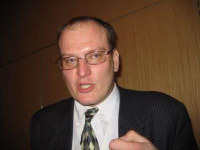 Prelekcjom przysłuchiwał się Andrzej Garapich, prezes PBI; w przerwach gorąco dyskutował