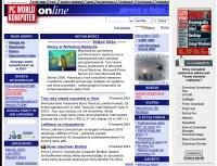 Strona PC Worlda z 2003roku w serwisie Internet Archive.