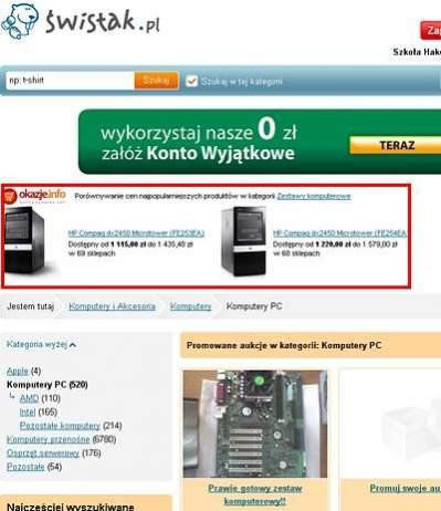 Okazje.info na Swistak.pl