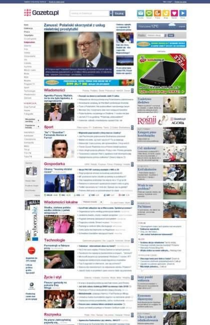 Gazeta.pl w wersji beta