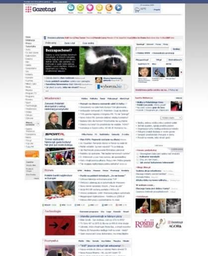 Gazeta.pl w wersji tradycyjnej