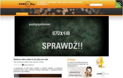 Pushboard 970x418 na ARBOblog.pl / rozwinięty