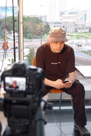 Na planie: Maciek Budzich <br>fot. Unipublica.com