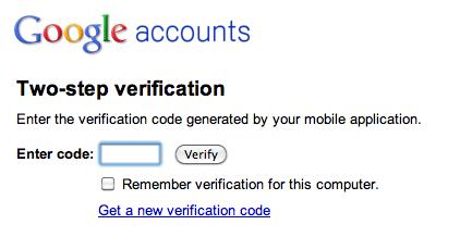 Google Apps: dwustopniowa weryfikacja