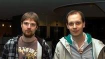 Fredrik Neij, Peter Sunde - założyciele serwisu The Pirate Bay