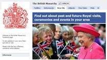 Elżbieta II na Facebooku