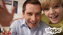 Rozmowy wideo między użytkownikami Skype'a
