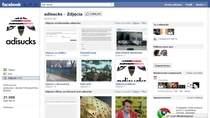 """adisucks na Facebooku - ponad 20 tysięcy """"lubiących"""""""