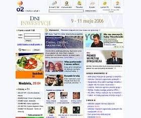 Nowa strona główna portalu o2.pl
