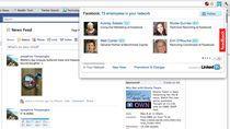 WhoWorks.At w przeglądarce Chrome (źródło: TechCrunch.com)
