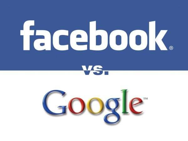 Facebook kontra Google