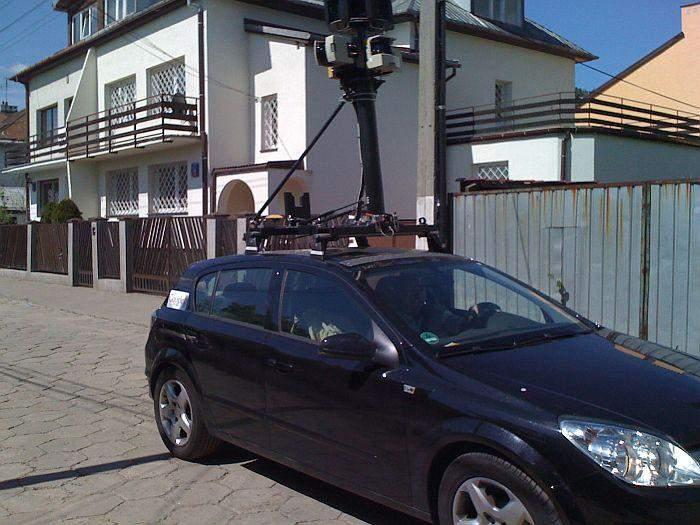Warszawę i okolice naszej redakcji Google odwiedził w maju 2009 r.