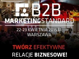 Jedyne wydarzenie na rynku poświęcone w 100% tematyce b2b!
