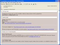Przykładowy atak typu phishing. Spreparowana przez cyberprzestępców wiadomość pochodząca rzekomo do serwisu Moneybookers.