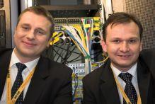 Piotr Pokrzywa i Krzysztof Szalwa