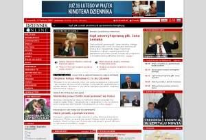 Witryna internetowa Dziennik.pl