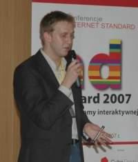 Grzegorz Łapanoski, kierownik grupy multimedialnej Wirtualnej Polski, mówił o telewizji internetowej