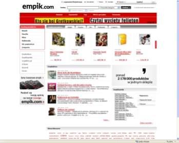 Zmieniony wygląd Empik.com
