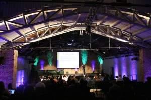 Sala konferencyjna w warszawskiej Fabryce Trzciny