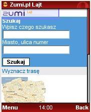 ZumiLajt w przeglądarce Opera Mini