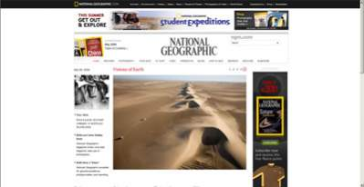 National Geographic Magazine Online (http://ngm.com)