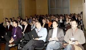 Sala konferencja w budynku Agory. Jak widać na załączonym obrazku, SEM to prężny temat i przyciąga wielu zainteresowanych.